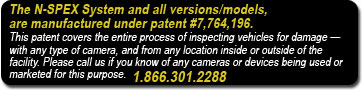 patent info - Vehicle Condition Documentation Systems